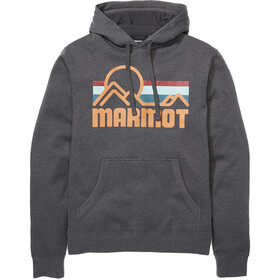 Marmot Coastal Sudadera Capucha Hombre, dark steel heather